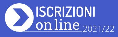 Iscrizioni online 2021/2022