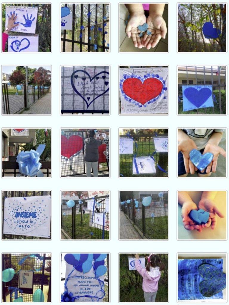 Galleria con alcune delle foto in blu scattate in questi giorni